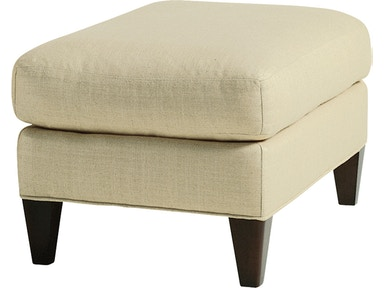 Baker Furniture Thomas Pheasant Moderne Ottoman 6331-11