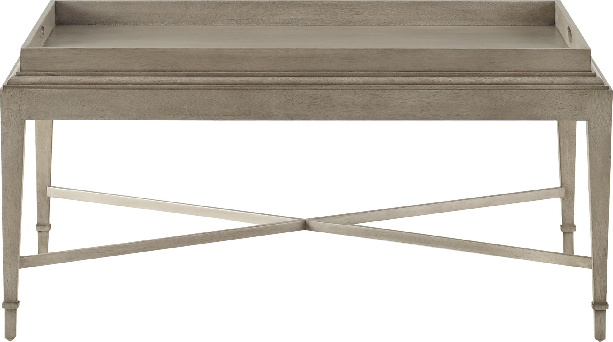 Baker Furniture 3451 Living Room Barbara Barry Tray Coffee Table