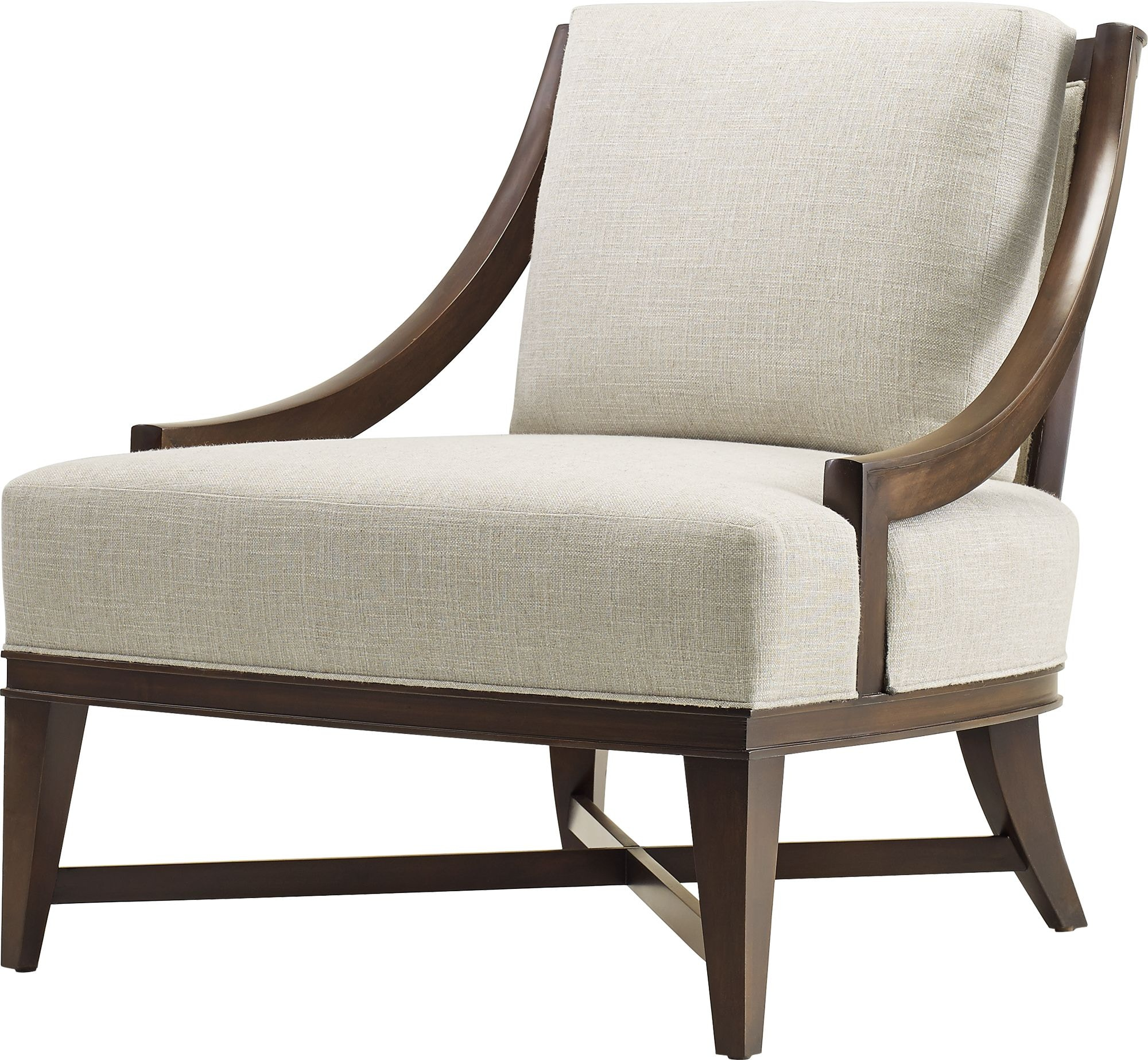 Baker Furniture Barbara Barry|Baker Designer Upholstery Nob Hill Lounge  Chair 6727C