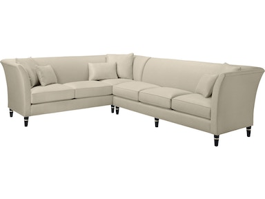 Baker Furniture Jacques Garcia Vicomtesse One Arm Loveseat (Left/Right) 6141LO