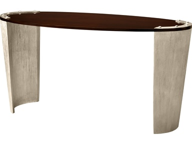 Baker Furniture Jacques Garcia Kampa Oval Desk 3878