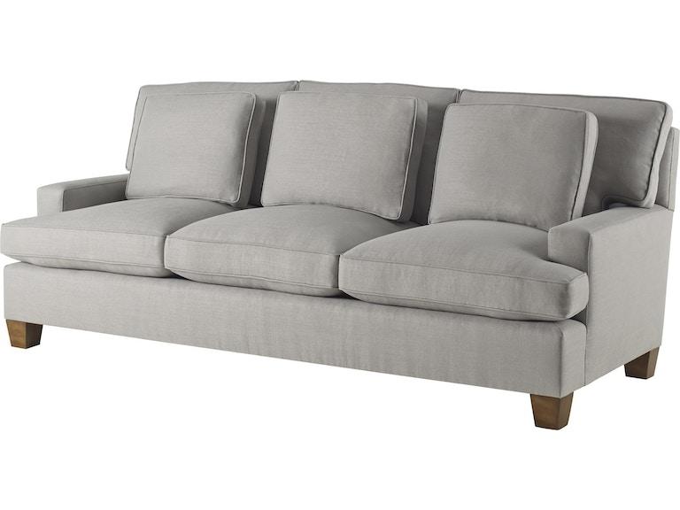 Baker Furniture Barbara Barry Designer Upholstery Modern Sofa 830 86