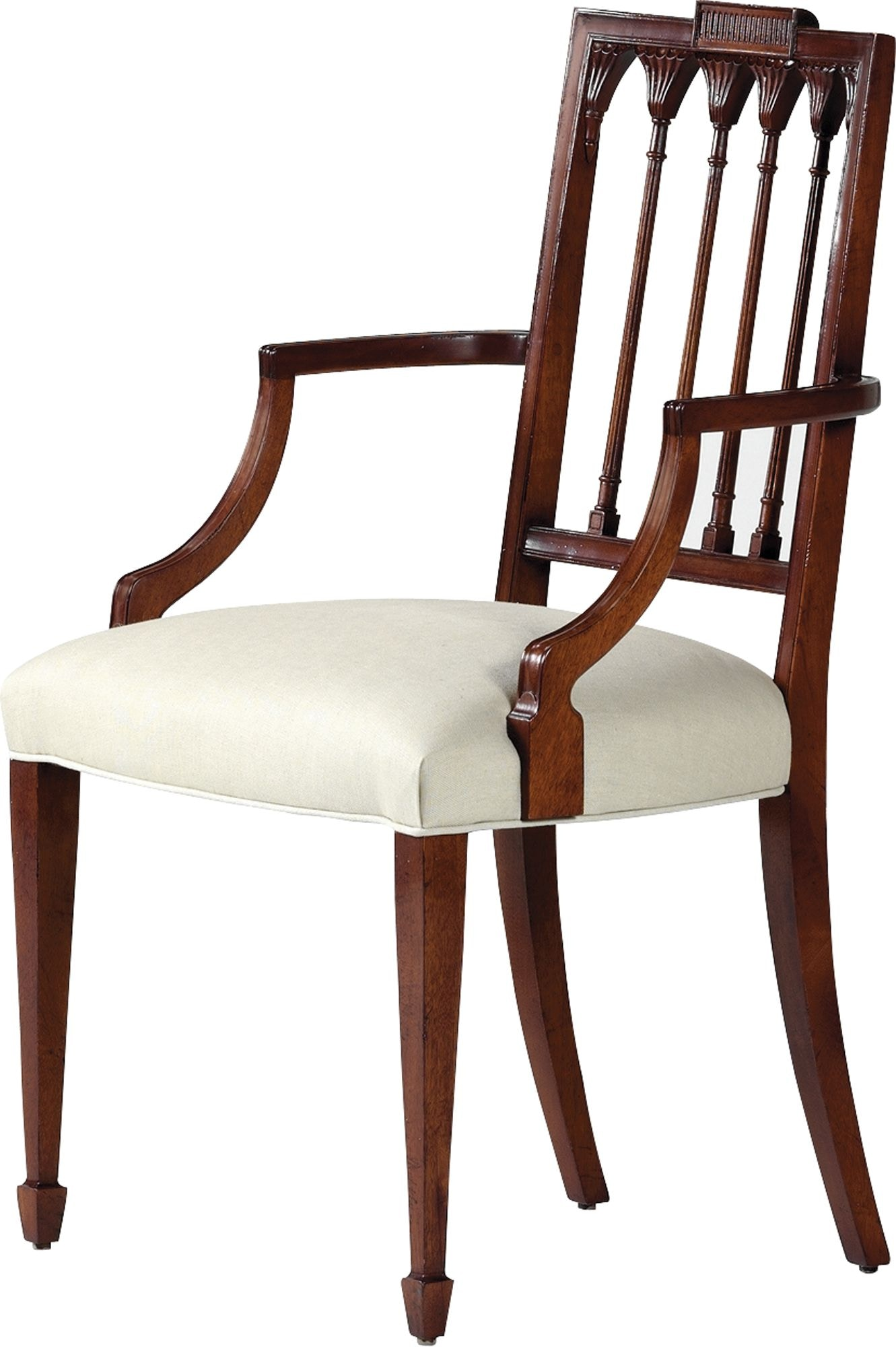 Baker Furniture 2943 Dining Room Historic Charleston Russell Arm Chair