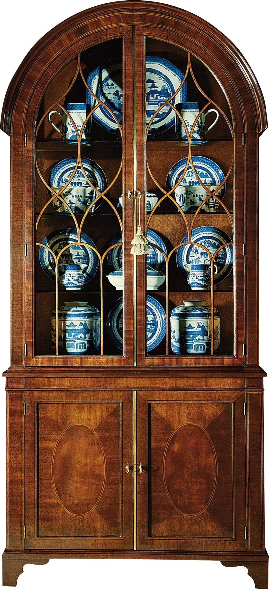 Baker Furniture 2535 Living Room Historic Charleston China Cabinet