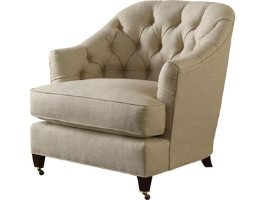 Baker Furniture Thomas Pheasant|Baker Designer Upholstery Windsor Lounge Chair 6357C