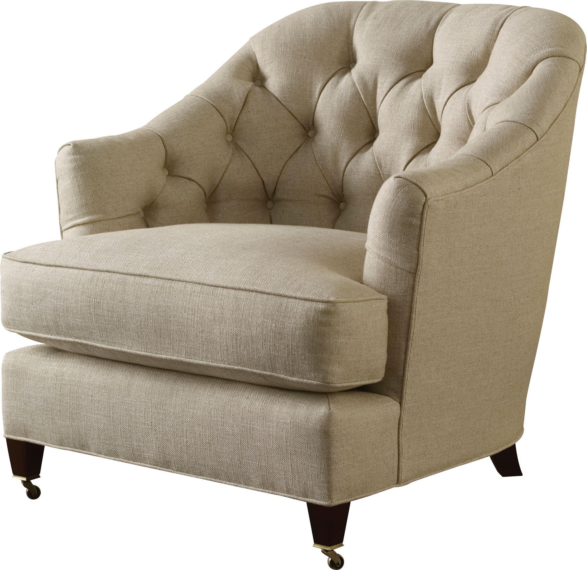 Baker Furniture Thomas Pheasant|Baker Designer Upholstery Windsor Lounge  Chair 6357C
