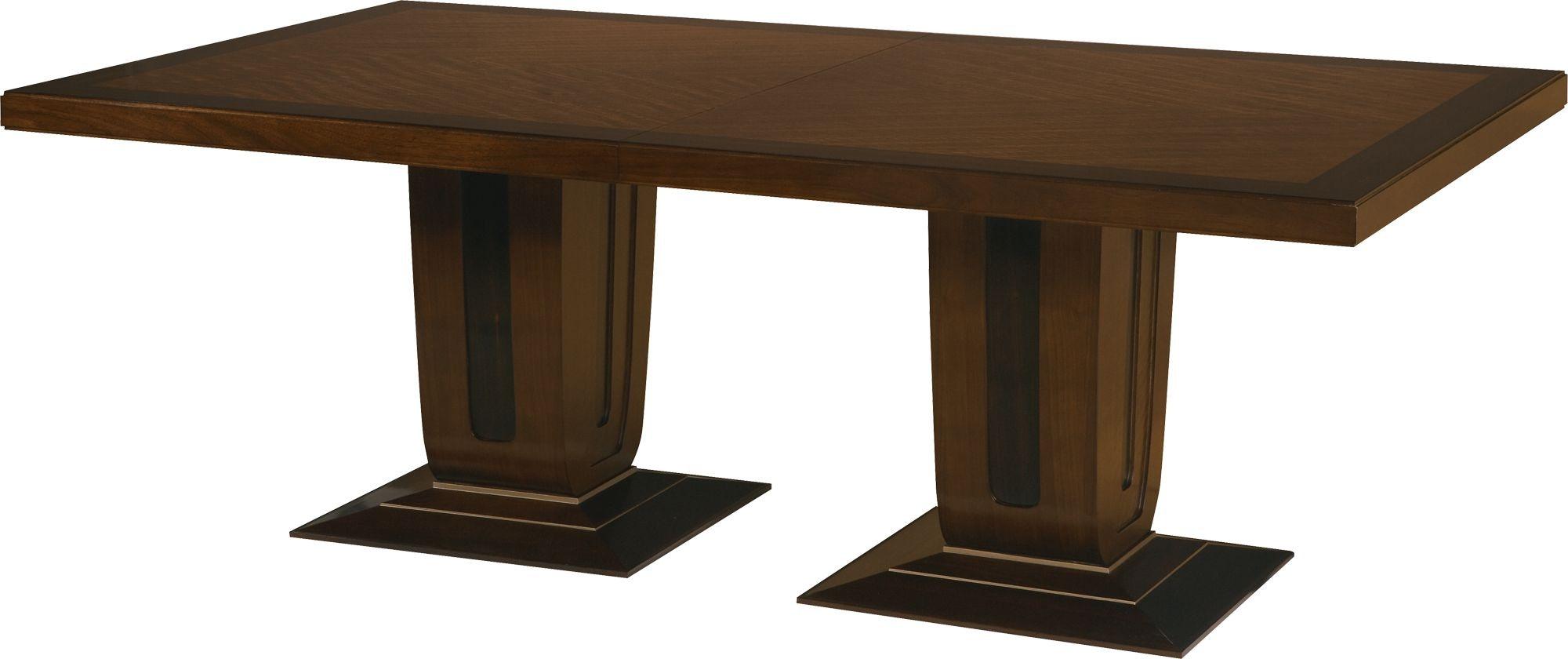 baker furniture 4093 dining room bill sofield beekman dining table