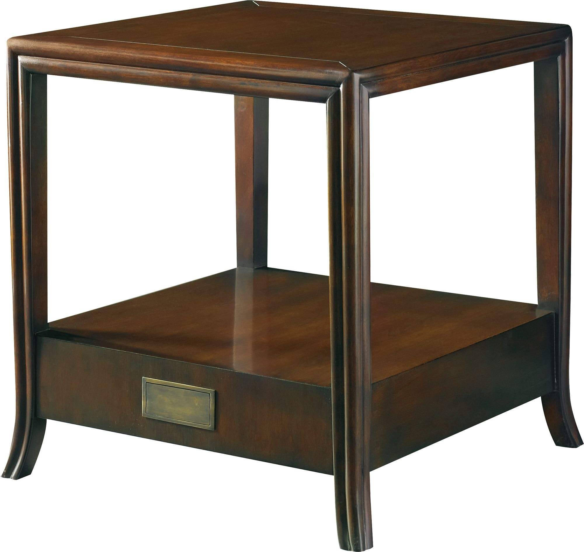 Baker Furniture 6656 Living Room Lexicon Morgen Side Table