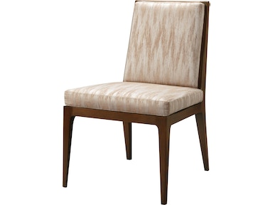 Baker Furniture Barbara Barry Carmel Upholstered Dining Side Chair 3642-1