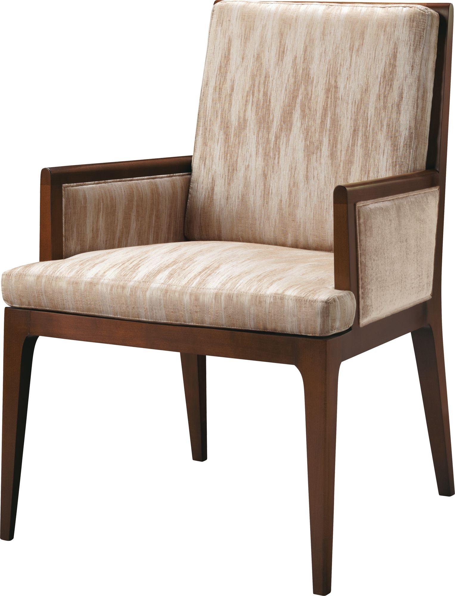 Baker Furniture Barbara Barry Carmel Upholstered Dining Arm Chair 3643 1