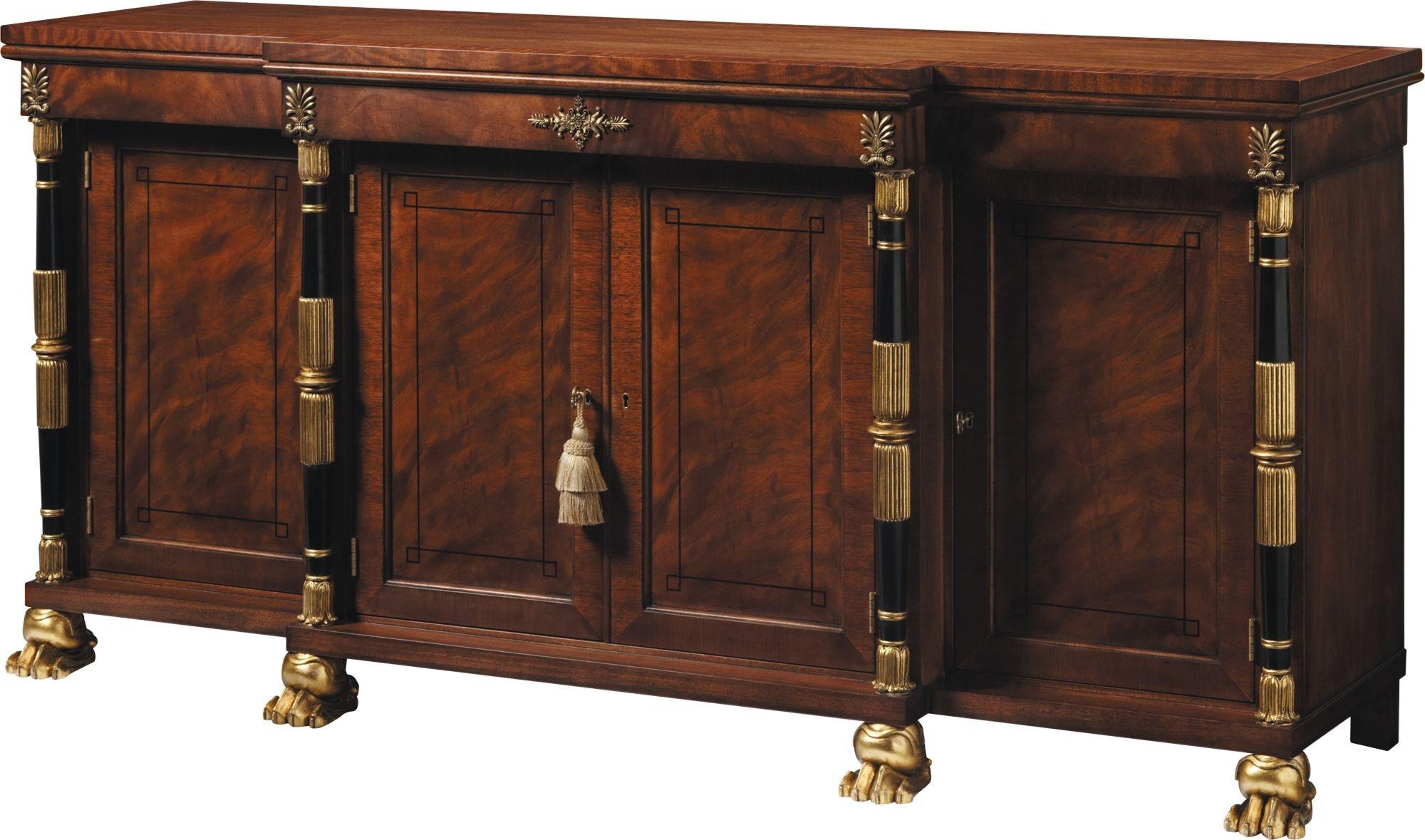 Baker Furniture Stately Homes Breakfront Cabinet 5332