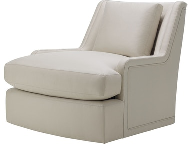 Baker Furniture Barbara Barry|Baker Designer Upholstery Colin Cab Swivel Chair 6712C-SW