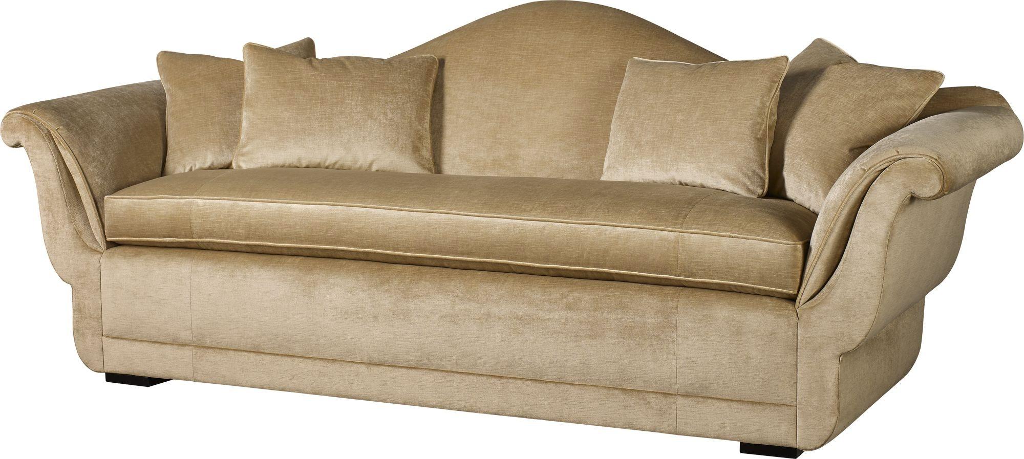6584S. Baker Classics Upholstery Sepal Sofa