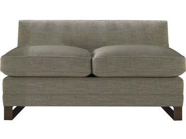 Baker Furniture Barbara Barry Surround Armless Loveseat 6734LA