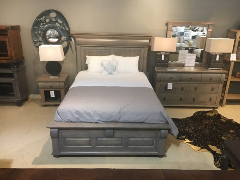 Palettes by Winesburg Bartletts-Island-Bedroom-Group 4-Piece Bedroom Set