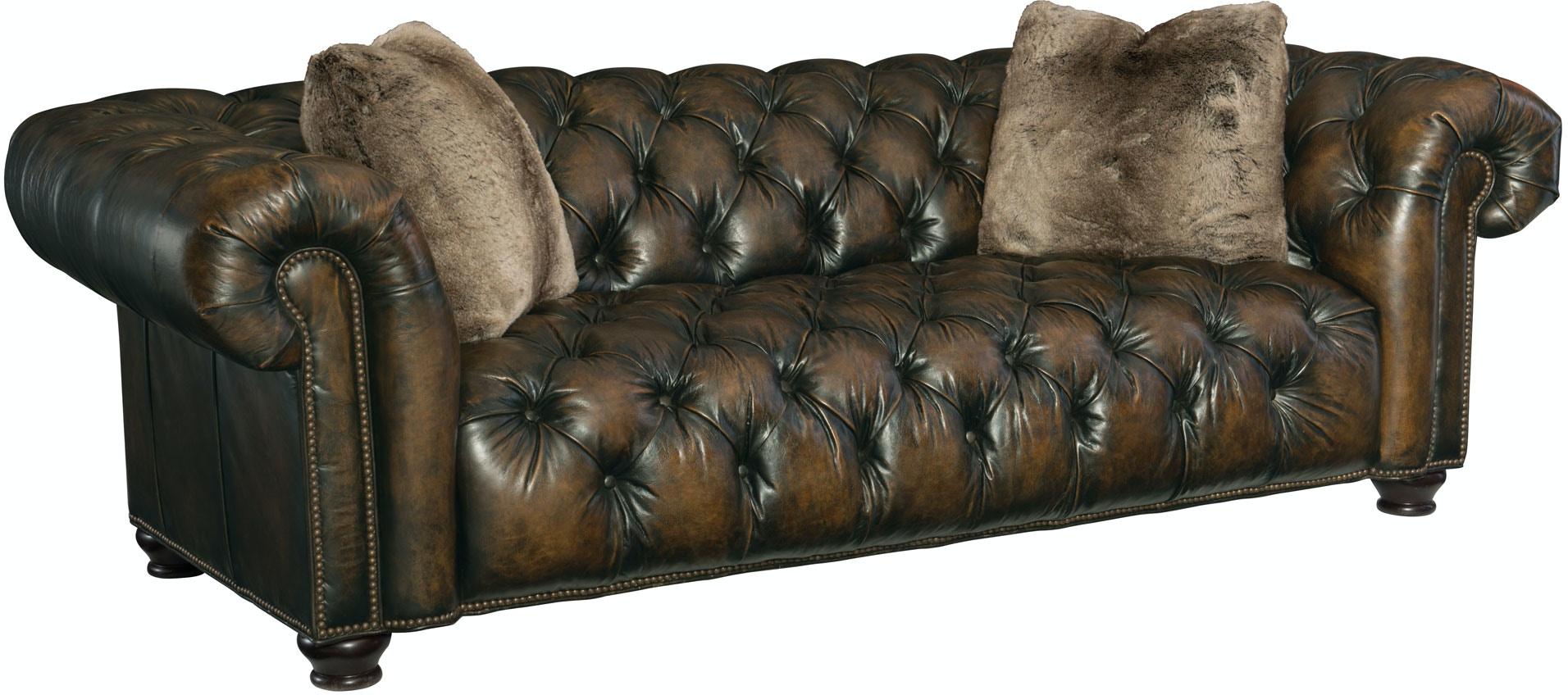 Bernhardt Furniture Living Room Wellington Sofa 3067l Goods Home  ~ Wellington Leather Sofa