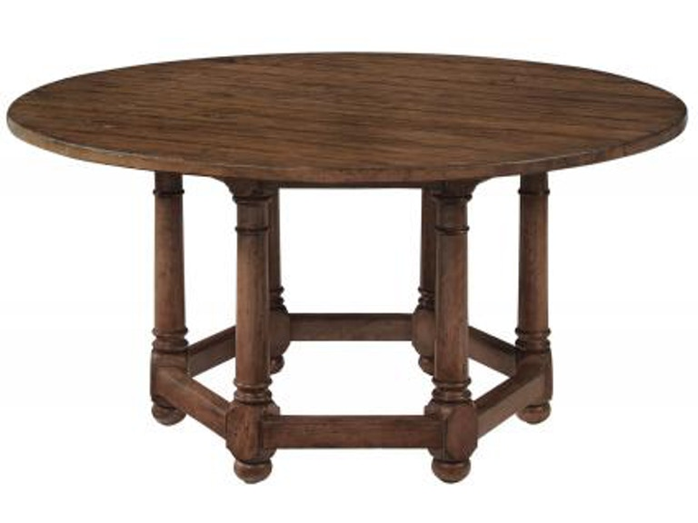 Bernhardt Furniture Vintage Patina Round Dining Table Top 322 274