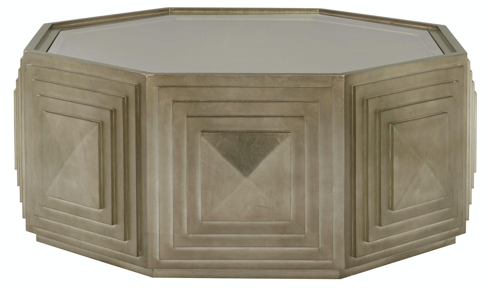Bernhardt Furniture Mosaic Round Cocktail Table 373 015