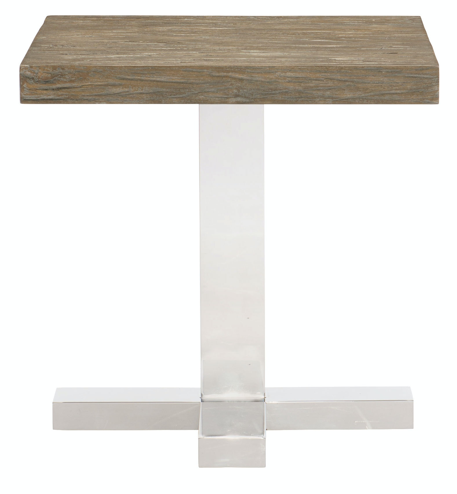 Bernhardt Furniture Pelham End Table Wood Top And Base 459 122T, 459 122