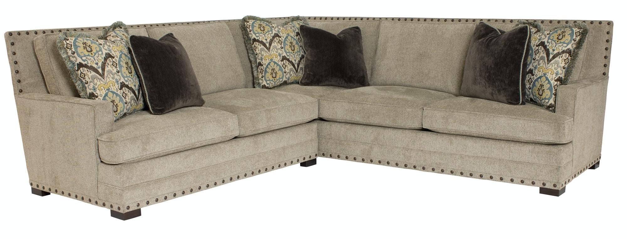 Beautiful Bernhardt Furniture Cantor Sectional B3842, B3893