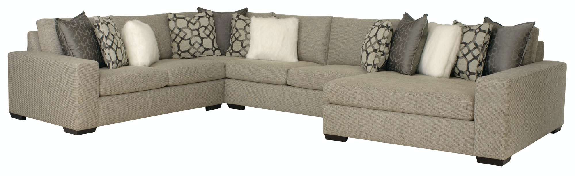Bernhardt Furniture Orlando Sectional B6542, B6532, B6540, B6537