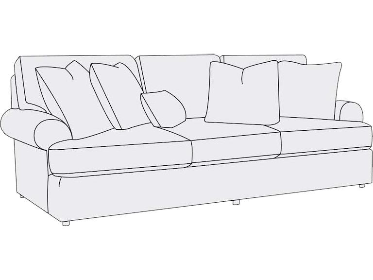 Bernhardt Furniture Andrew Sofa 96 B7626