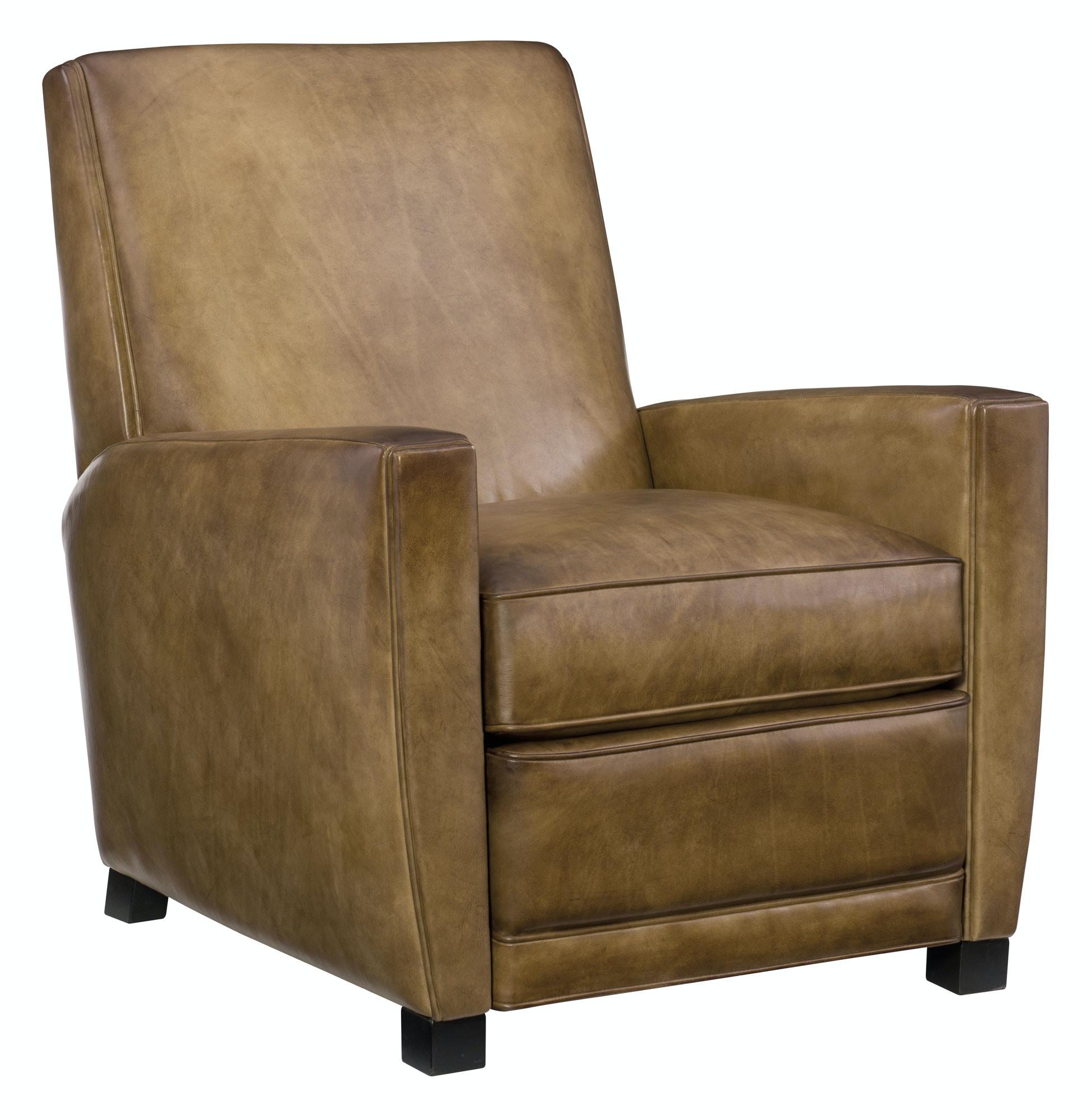 Barrett Reclining Leather Chair By Bernhardt In Original