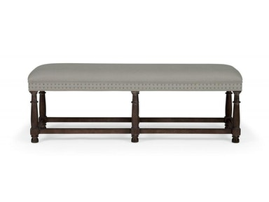 Bernhardt Furniture Belgian Oak Bench 337-508C