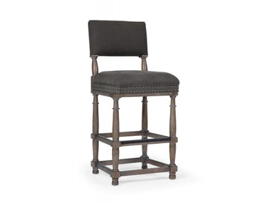 Bernhardt Furniture Belgian Oak Bar Stool 337-588