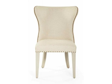 Bernhardt Furniture Salon Upholstered Wing Dining Chair 341-541