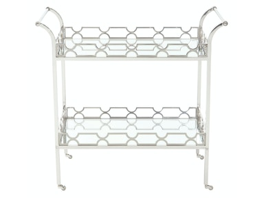 Bernhardt Furniture Criteria Metal Bar Cart 363-401