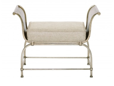 Bernhardt Furniture Sutton House Metal Bench 367-507