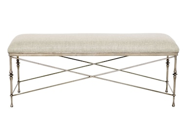 Bernhardt Furniture Sutton House Metal Bench 367-508