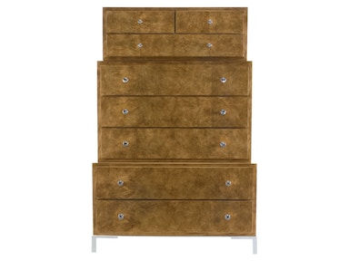 Bernhardt Furniture Soho Luxe Three-Tiered Tall Chest 368-117