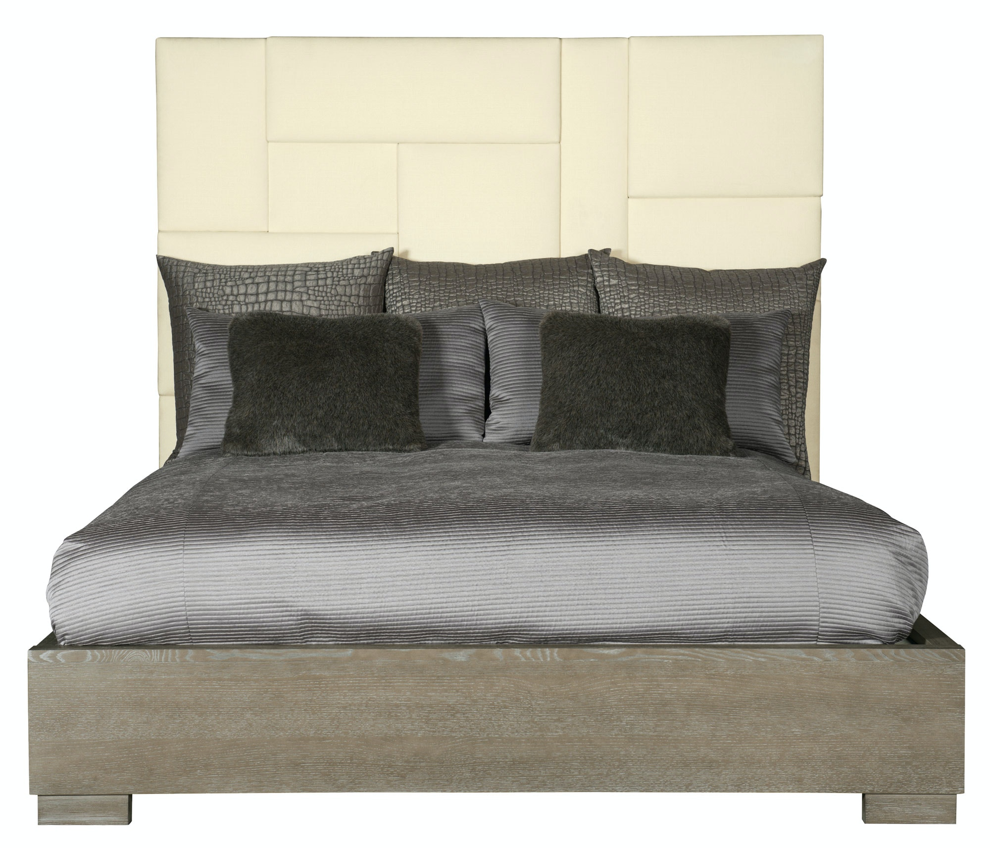 bernhardt furniture mosaic upholstered panel bed 373h66 373fr66