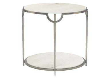 Bernhardt Furniture Morello Round End Table 469-123