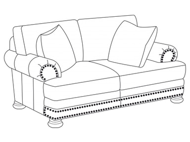 Bernhardt Furniture Foster Loveseat 5175L