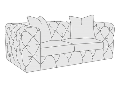 Bernhardt Furniture Chelsea Loveseat 5485L