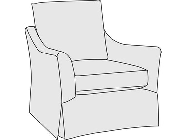 Bernhardt Furniture Nicole Chair B2552