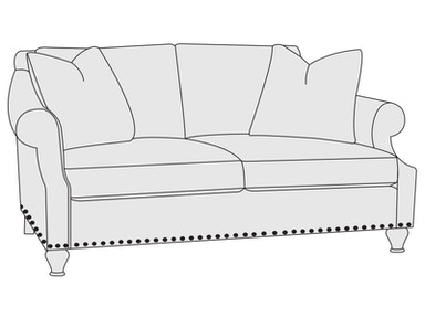 Bernhardt Furniture Harrison Loveseat B3945