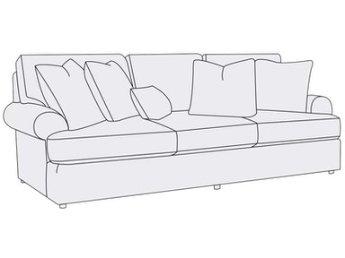 Bernhardt Furniture Andrew Sofa (96) B7626