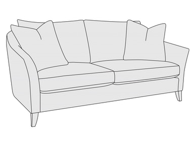 Bernhardt Furniture Claiborne Loveseat B8825