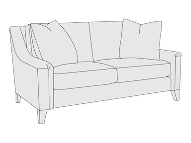 Bernhardt Furniture Norton Loveseat B8885