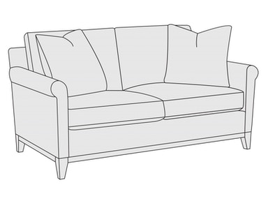 Bernhardt Furniture Jasper Loveseat B9065