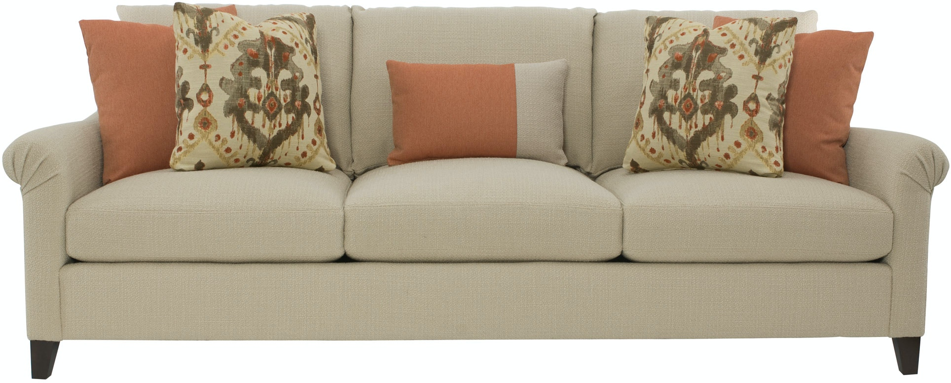 Bernhardt Furniture B9857 Living Room Sherman Sofa