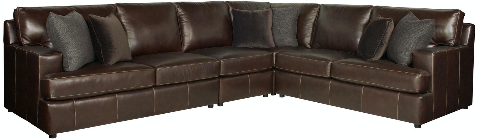 Bernhardt Furniture Winslow Sectional 3441L, 3442L, 3432L, 3430L