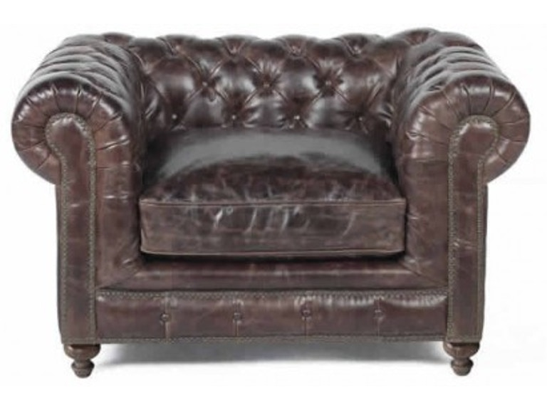 Bespoke 93240l 01df Living Room Finn Leather Chair
