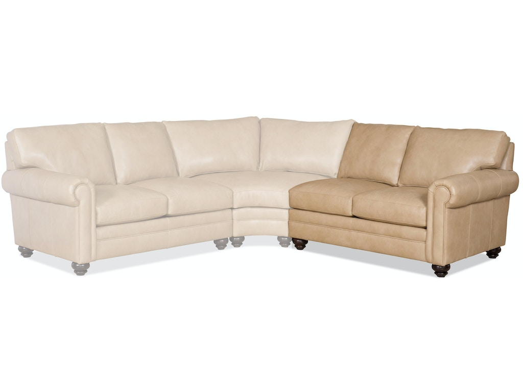Bradington Young Furniture Living Room Daire Raf Stationary Loveseat 8 Way Tie 172 58 Goods