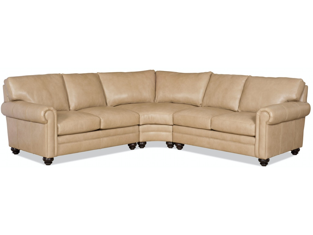 Bradington Young Furniture 172 68 Living Room Daire Corner Wedge 8 Way Tie