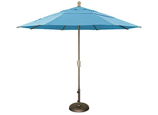 CabanaCoast Furniture Patio Umbrella: 11 Ft. Deluxe Auto Tilt